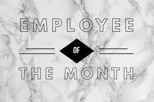 Employee of the Month: April 2018-  Bryan Shuler