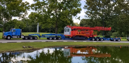 Buchanan Hauls 110,000# Drill Rig to Port Everglades